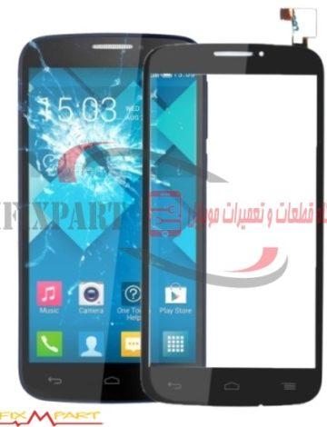 صفحه تاچ گوشی موبایل Alcatel One Touch 7047 POP C7 Bluish