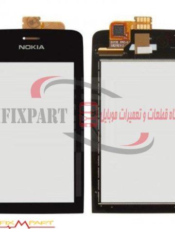 صفحه تاچ گوشی موبایل Nokia Asha 308