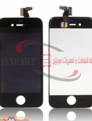 Apple iPhone 4 ال سی دی و تاچ گوشی موبایل
