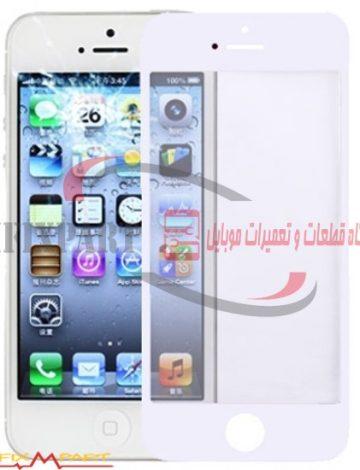 Apple iPhone 5 گلس ال سی دی لنز تاچ اسکرین گوشی موبایل