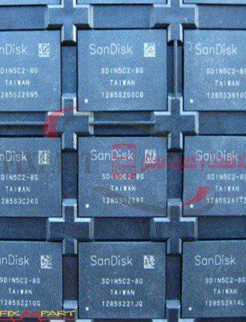 آی سی هارد فول پروگرام چیپ فلش مموری مدل SanDisk SDIN5C2-8G برای گوشی LG Optimus 3D P920